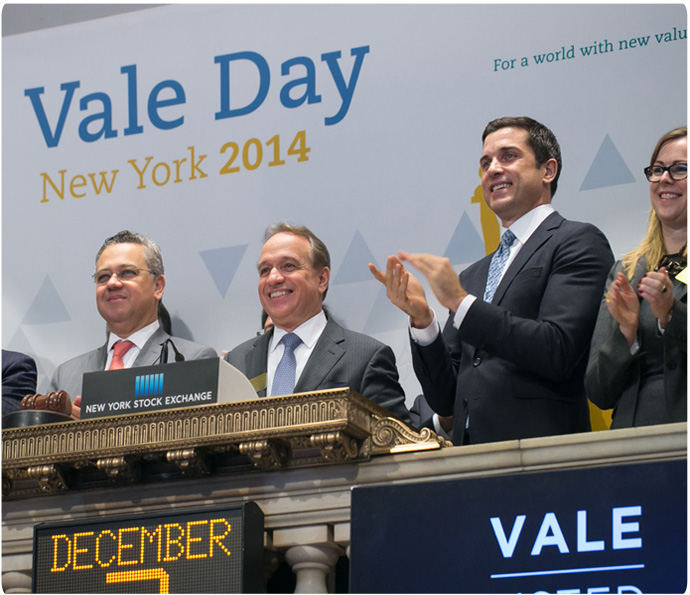 """We have successfully prepared the basis for a sustainable company,"" said Murilo Ferreira to investors during Vale Day event in New York."