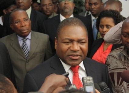 The recently elected Mozambique President, Filipe Nyusi