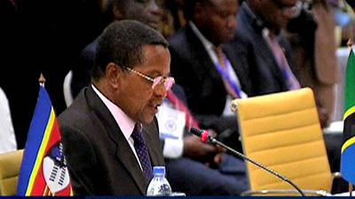 Jakaya Kikwete, president of Tanzania