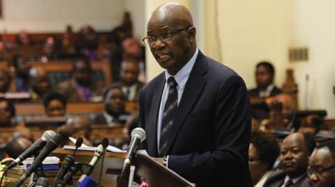 Zimbabwe Finance Minister, Patrick Chinamasa