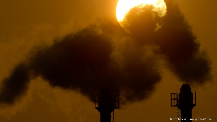 Climate talks-pollutions