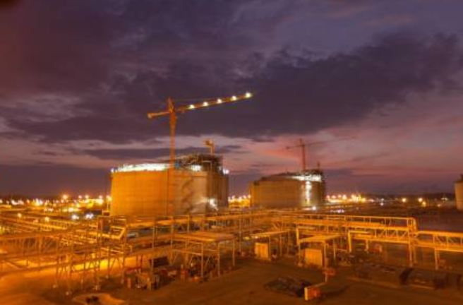Angola LNG plant