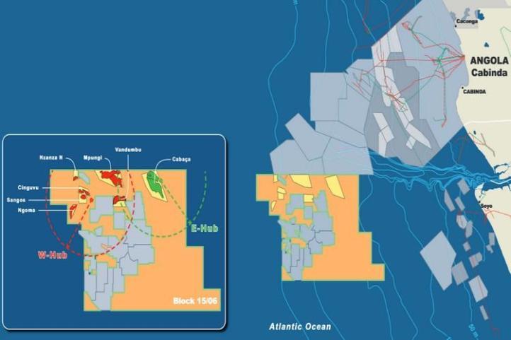 Eni starts production of Mpungi offshore field at the West Hub Development, Angola