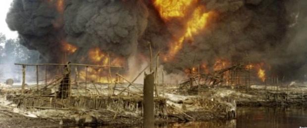 Nigerian Pipeline Bombed, Knocking Off 300,000 Barrels Per Day