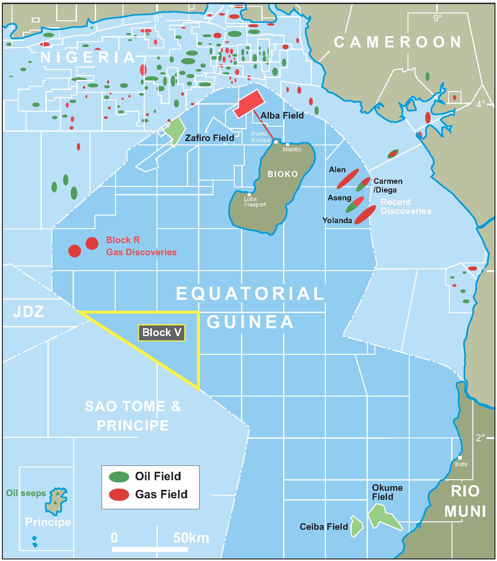 Africa Oil Gas Equatorial Guinea starts 2016 licensing round