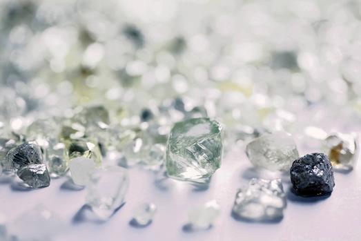 Diamond - Lucapa Mothae mine - Lesotho