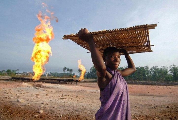 Nigeria - Gas-Flaring-