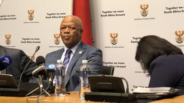 SA Minister - jeff radebe - jfraser